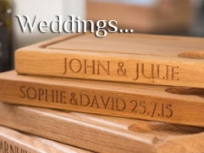 Wonderful Wedding Gifts from Peck & Chisel